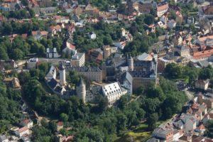 Stadtansicht Altenburg mit Schloß
