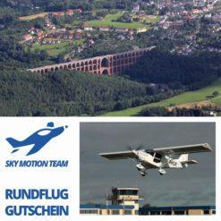 Gutschein Rundflug Vogtland