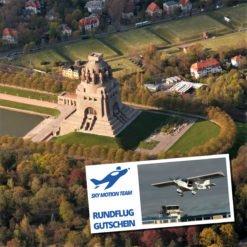 Gutschein Rundflug Leipzig und Neuseenland