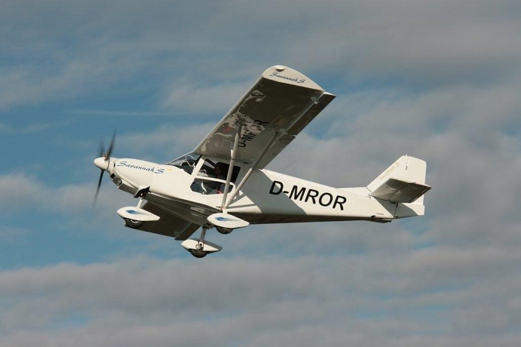 Neues Flugzeug: I.C.P. Savannah S