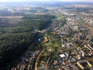 Gera - Blick auf den Hofwiesenpark