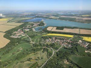 Leipziger Neuseenland: Hainer See und Kahnsdorf
