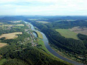 Bad Schandau und Elbsandsteingebirge