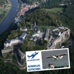 Gutschein Rundflug Erzgebirge, Sächsische Schweiz und Dresden