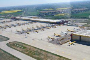 DHL Hub Flughafen Leipzig/Halle