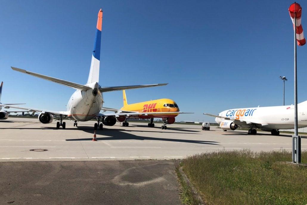 Flughafen Leipzig/Halle Vorfeld GAT