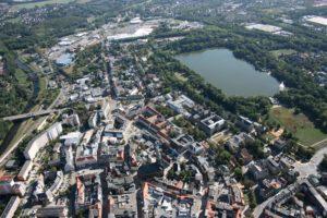 Zwickau Innenstadt und Schwanenteich