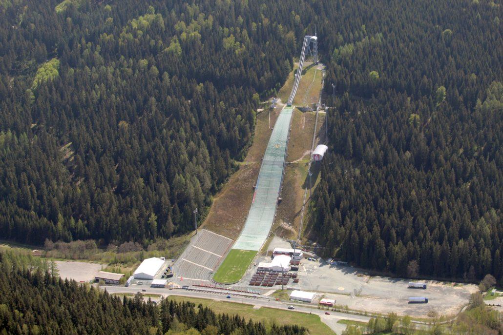 Vogtland Arena Sprungschanze Klingenthal