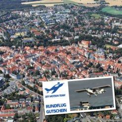 Gutschein Rundflug Freiberg